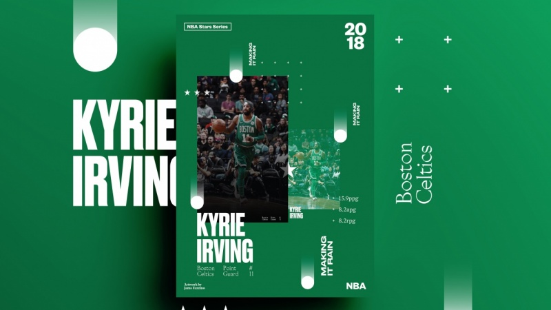Kyrie Irving – Making It Rain and Ben Simmons – ROTY