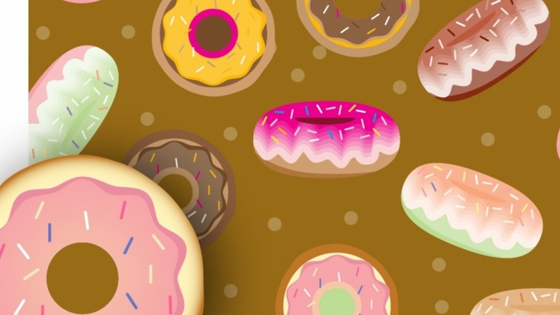 Donuts and patterns