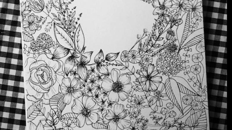 Floral Illustration: Composition Meets Negative Space