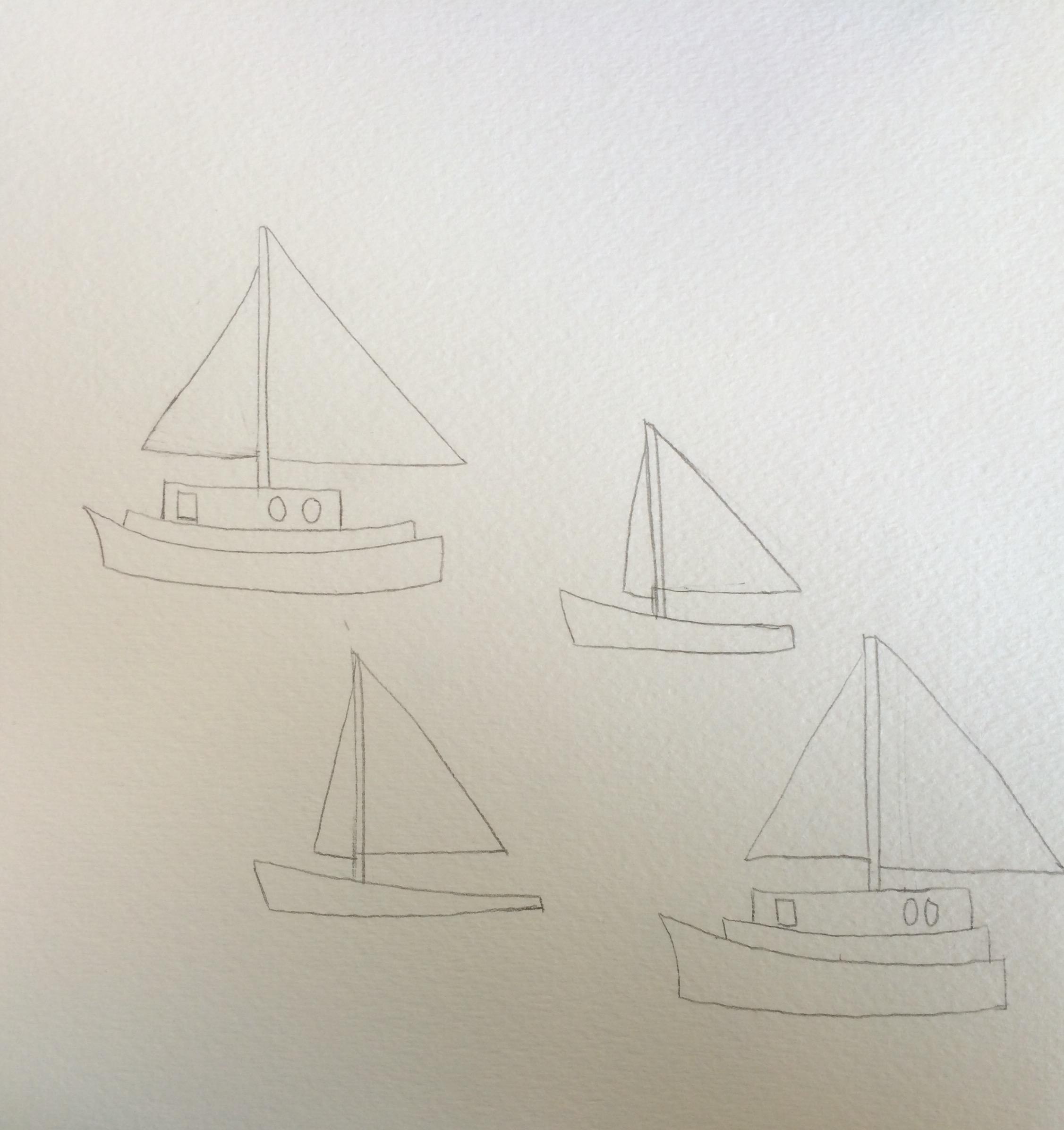 sailboat motif skillshare projects