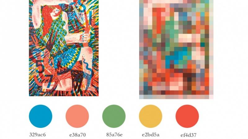 Colours for shout project