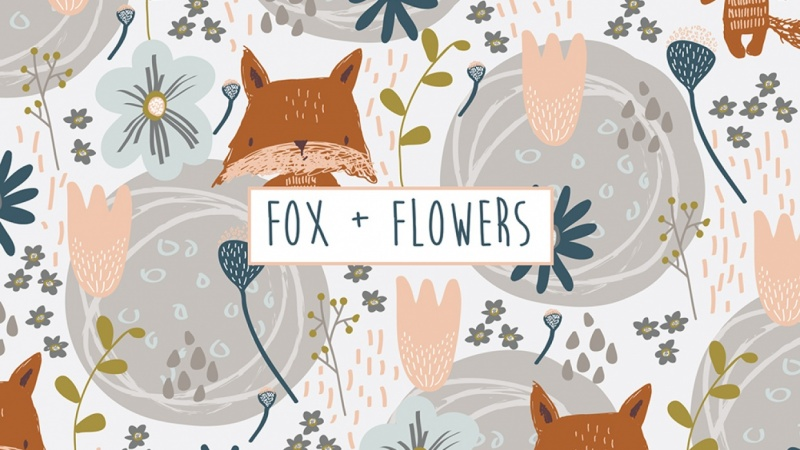 Fox + Flowers