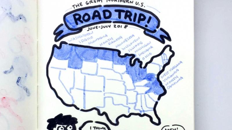 My Northern US Summer 2018 Road Trip!