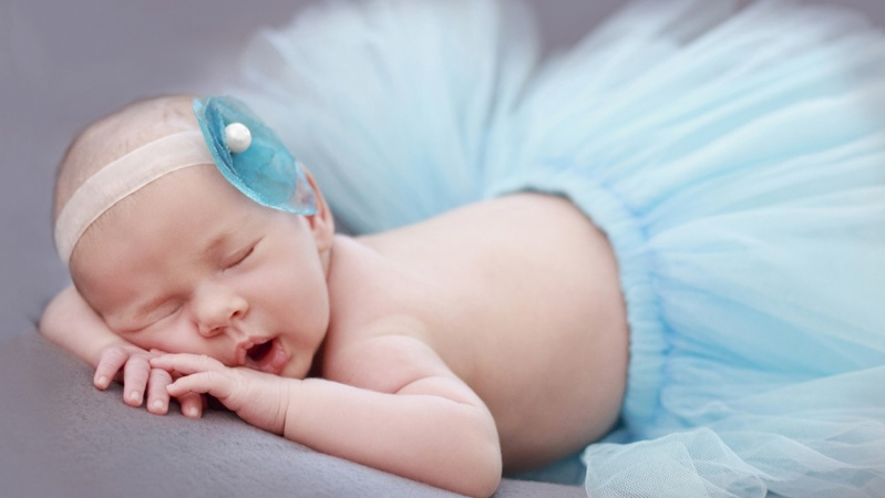 My first baby photography experience