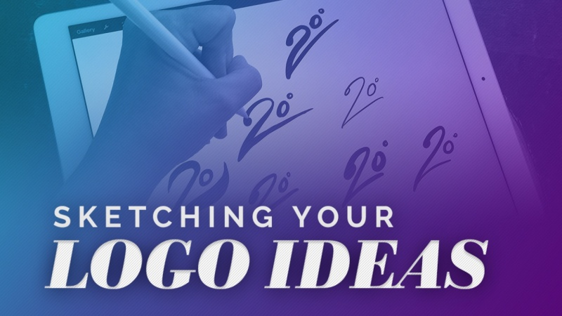 Sketching Logo Design Ideas - Making Them Reality!