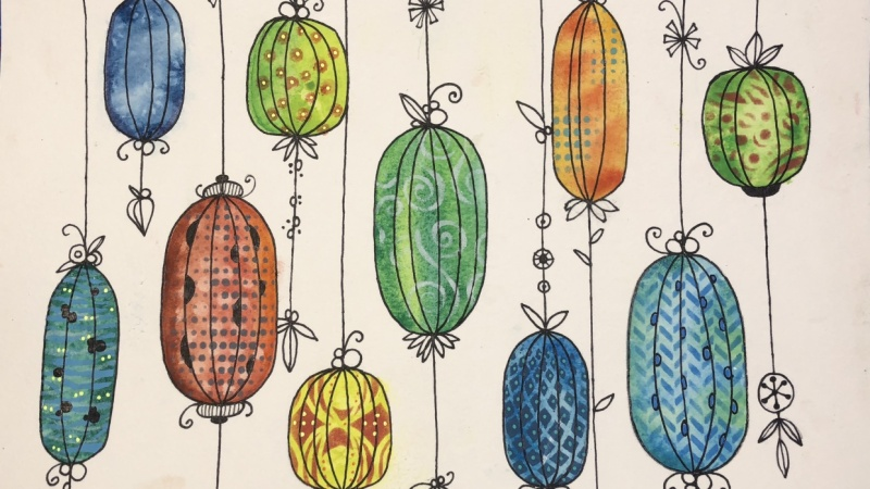 Botanical Lanterns