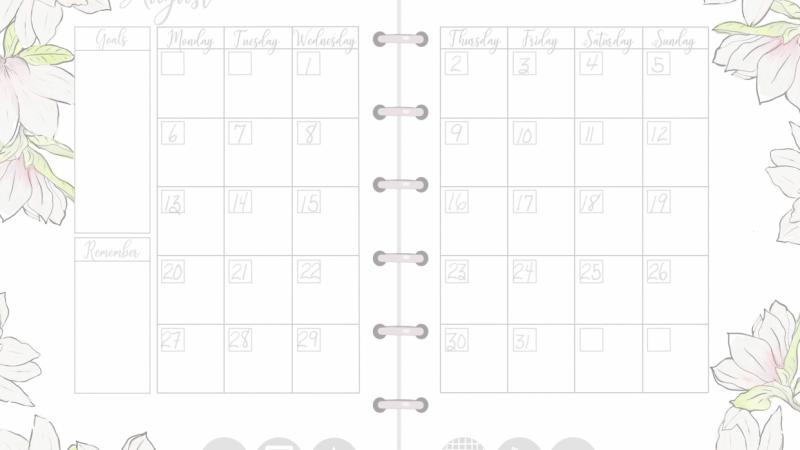 2018 planner