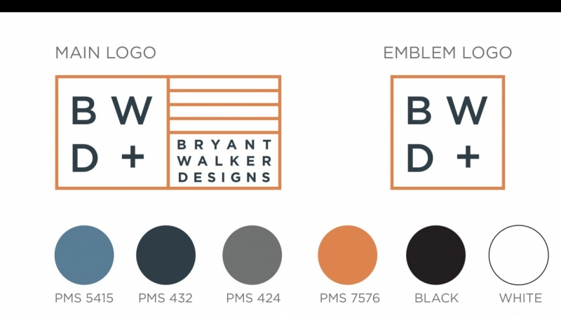 Bryant Walker Designs Brand Identity