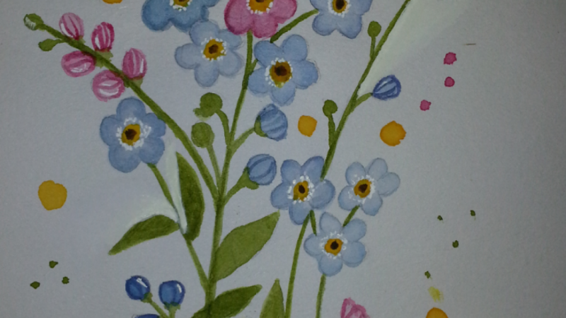 Eugenias Forget me nots practice