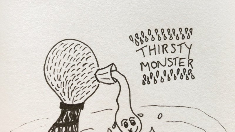 Thirsty and Coffee monster