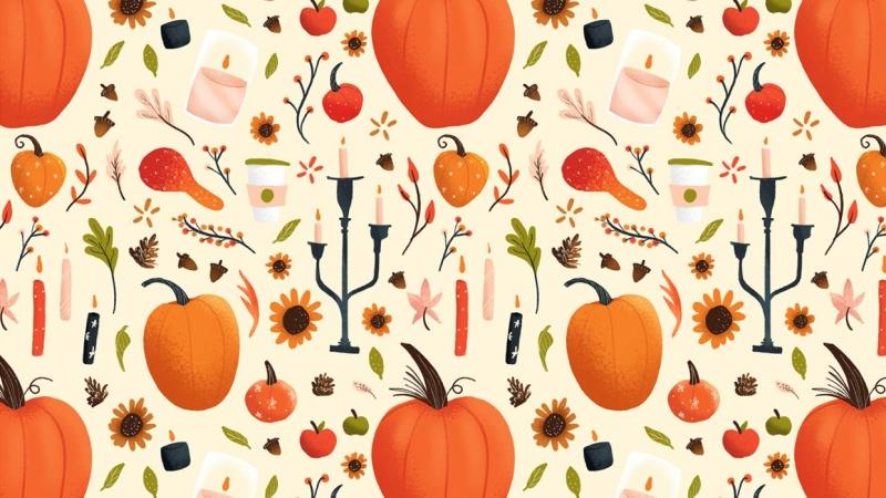 Fall Pumpkin Pattern