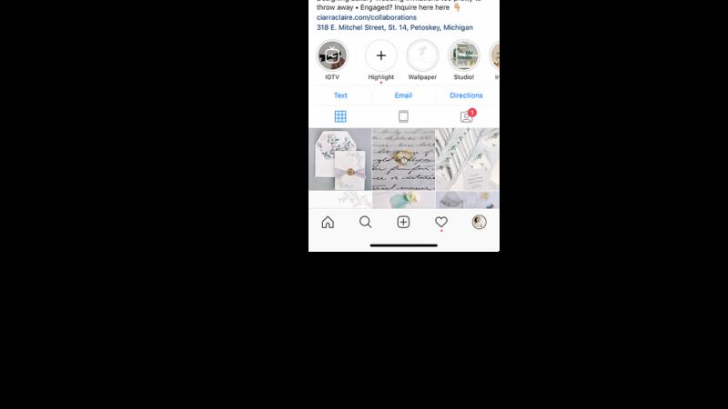Ciarra Claire- Professional Instagram