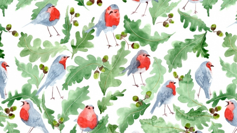 watercolour wrapping paper