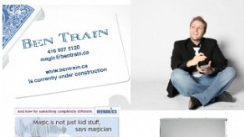 Ben Train Magician Logo