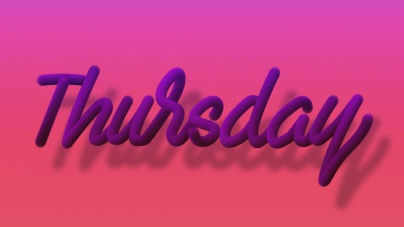 Thursday mood