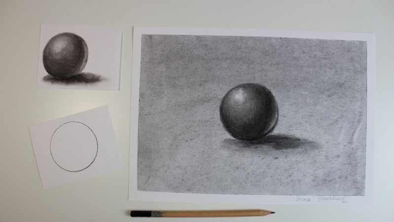 My Charcoal 3D Image