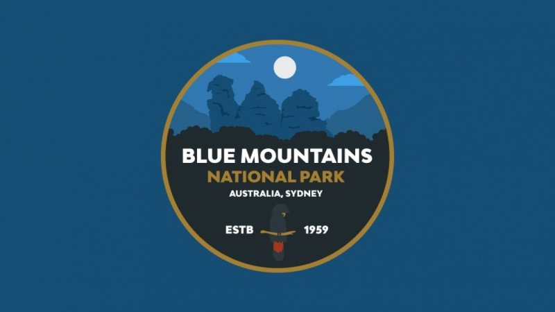 Blue Mountains National Park Badge
