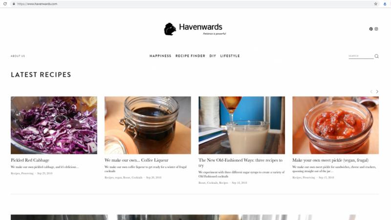 Havenwards Squarespace Blog
