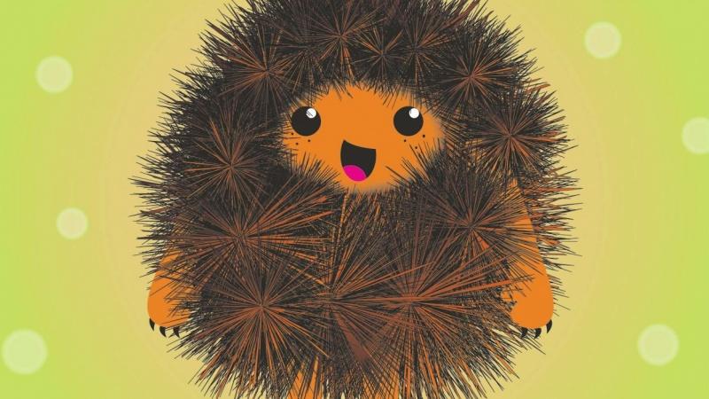 Fluffy chestnut