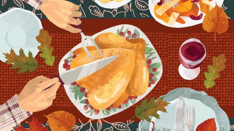 Thanksgiving Fall Palette