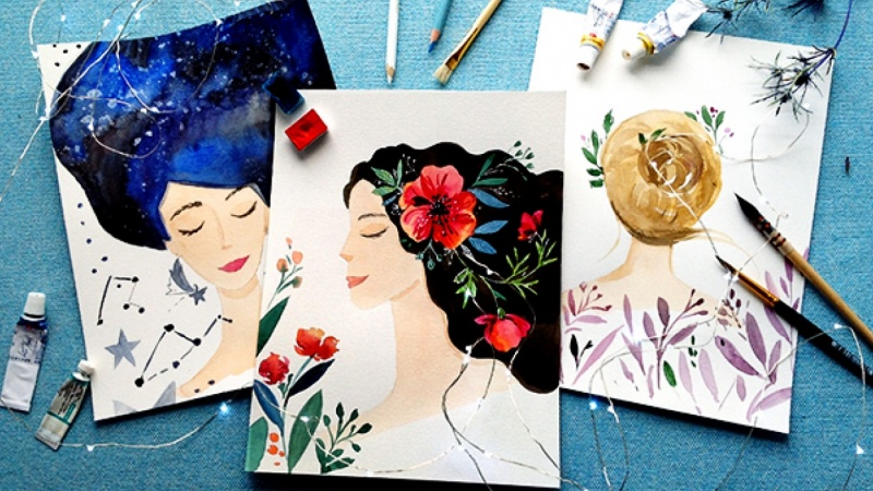 Whimsical Portraits {Sample Project}