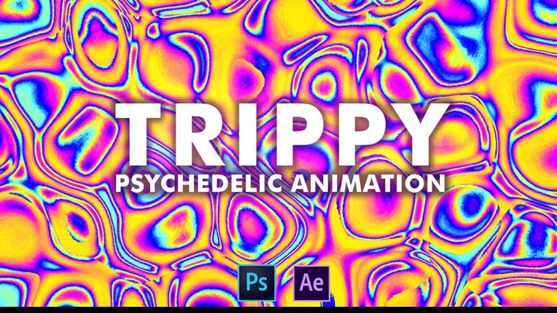 Trippy Psychedelic Animation