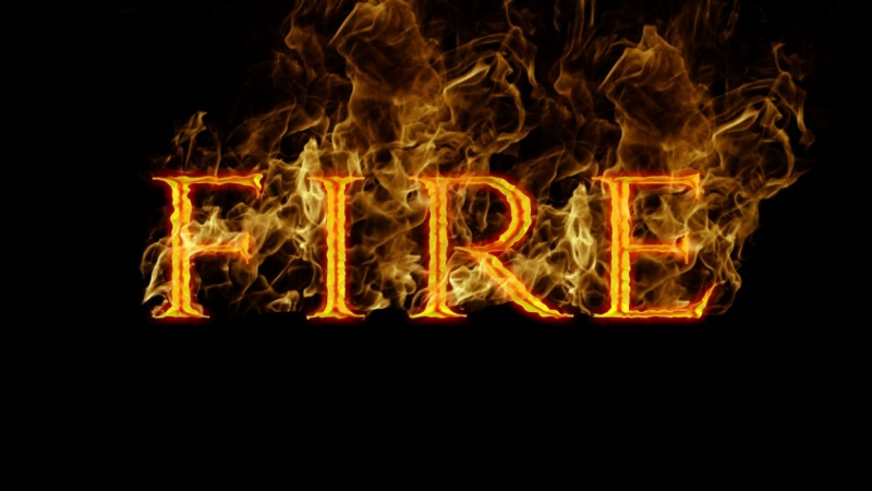 Photoshop Tutorial: How to Create a FIRE Text Effect in UNDER 10