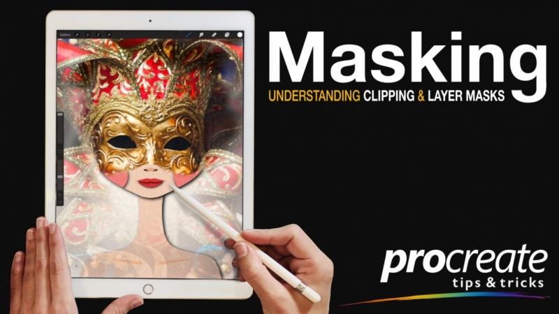 Masking in Procreate