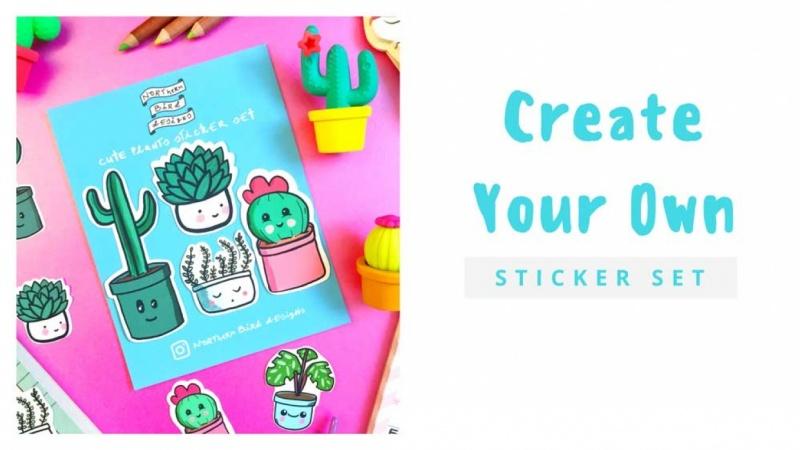Create Your Own Sticker Set