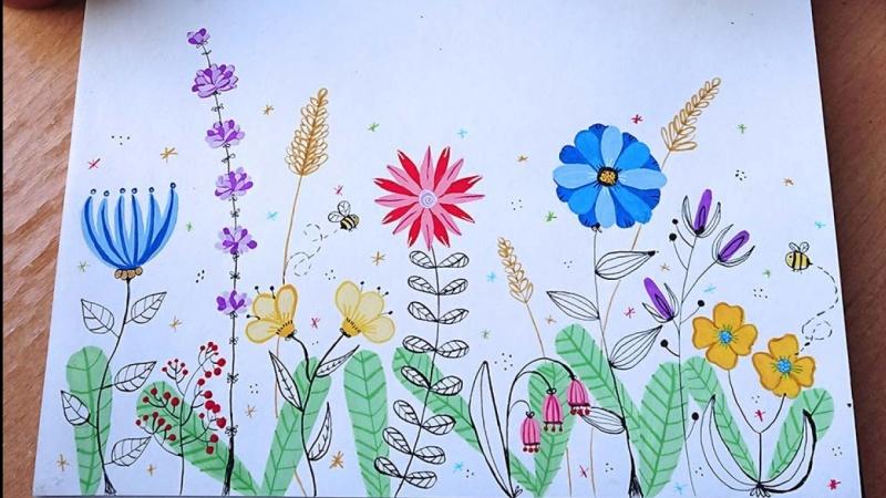 My flower meadow