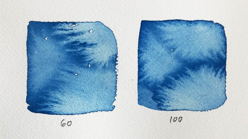 Timed Watercolour Experiments