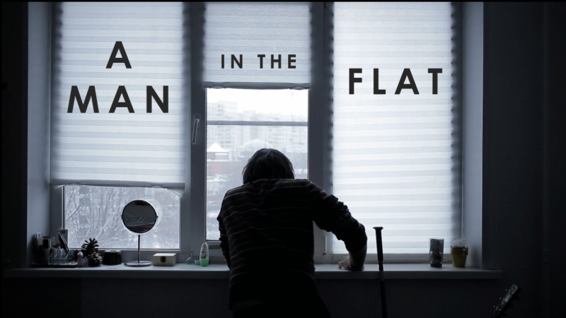 A man in the flat