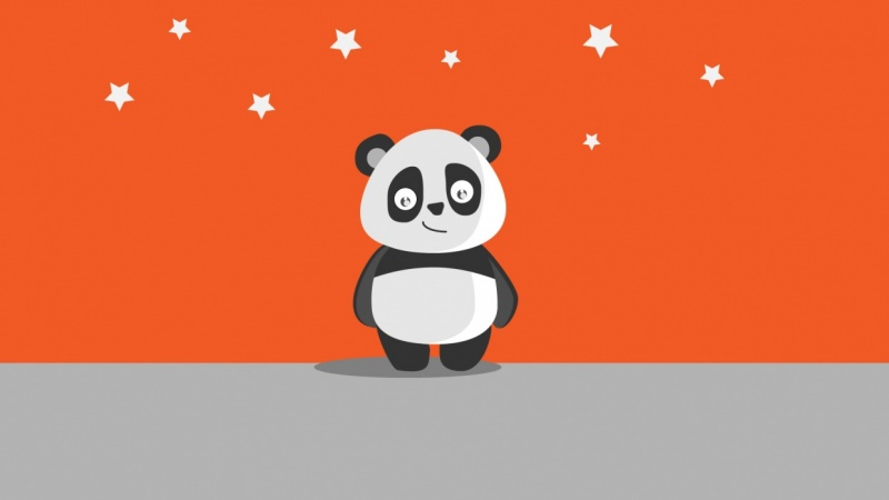 Panda Art,Paper Art