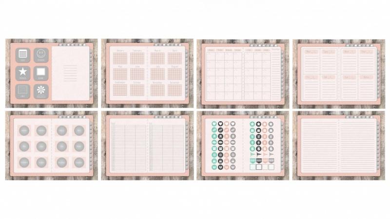 Pastel Pink Planner