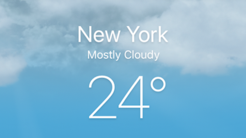 Mostly Cloudy with a Chance of Seamless UX Design