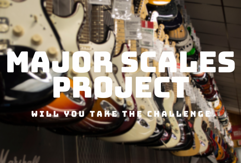 The G Major Scale Project