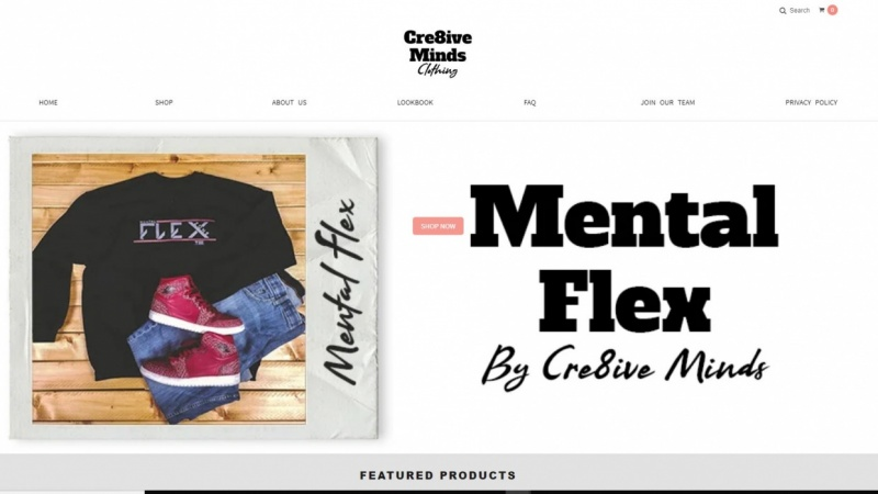 Cre8ive Minds clothing