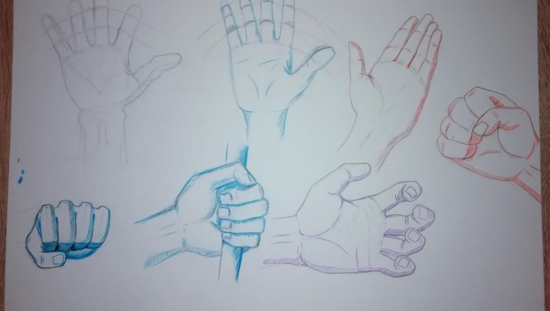 Dynamic Hand Poses