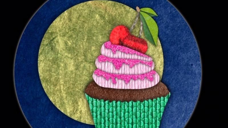 Vollmond Cupcake