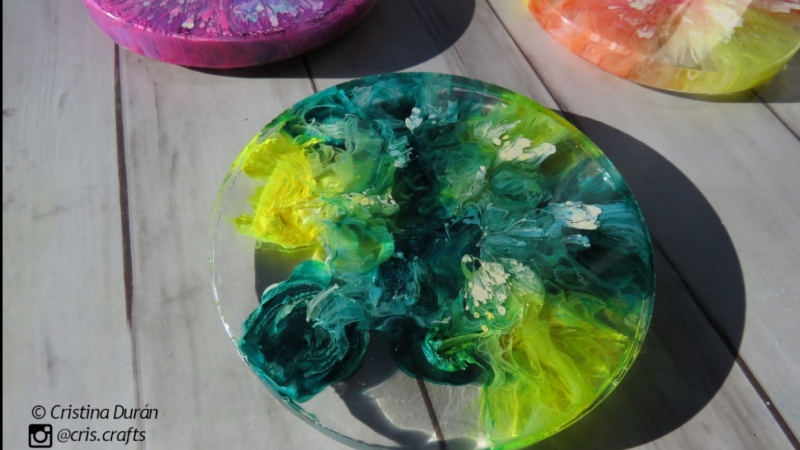 This are my first resin coasters