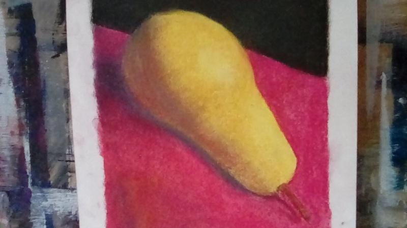 Pear in Pastels