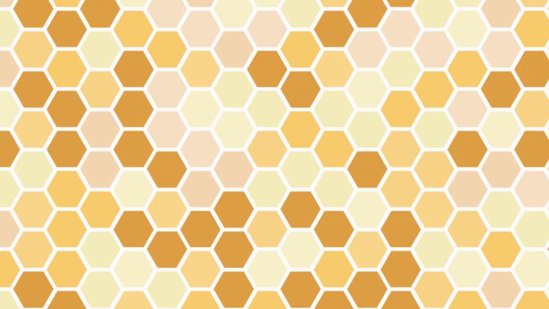 Honeycomb Hexagon Pattern