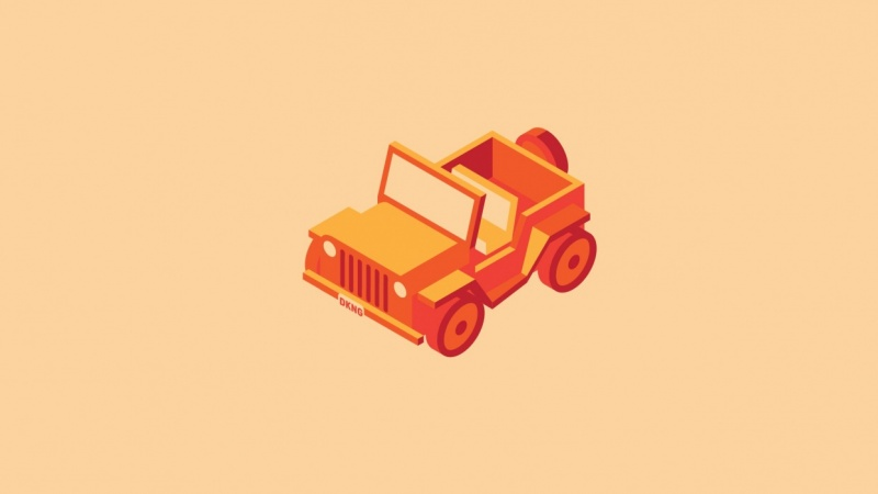 Isometric Jeep