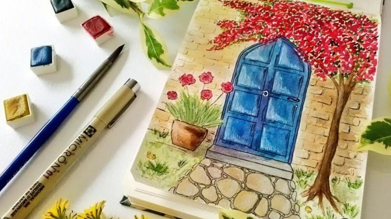 Door illustrations