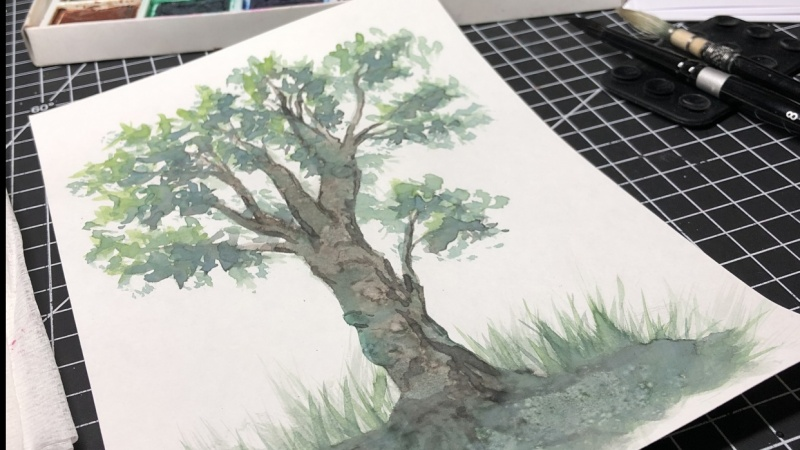 PAINT ALL THE TREES!