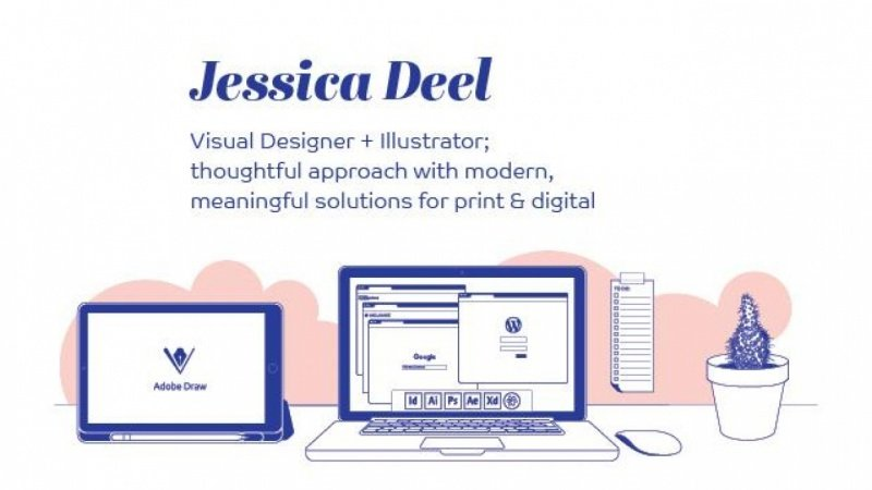 Jessica Deel: Visual Designer + Illustrator