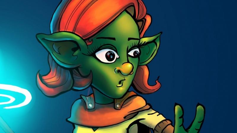 Let's Color a Goblin!   Complete Digital Coloring Process Walkthrough