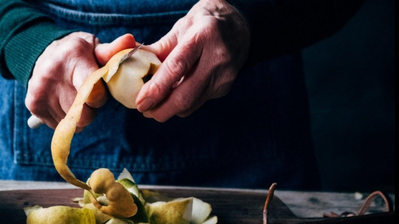 Mothers poached pears