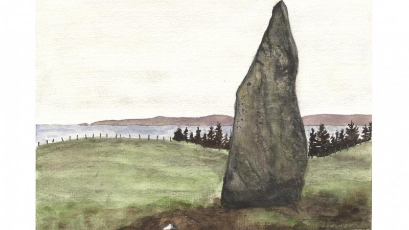 The Druid Stone, Arran - Compositional Techniques