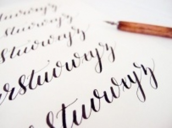 Calligraphy practice skillshare projects